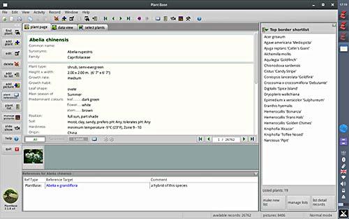 Plant page, MX Linux